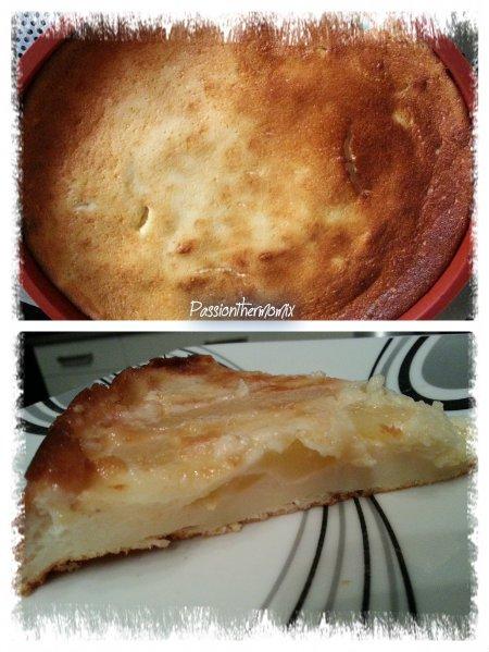 Gâteau au fromage blanc & aux fruits, light