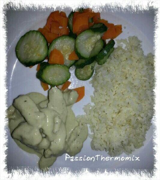 Emincé de dinde aux petits légumes