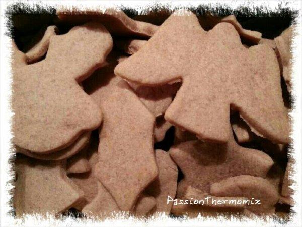 Petits sablés aux épices de Noël