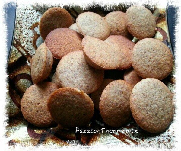 Biscuits aux noisettes