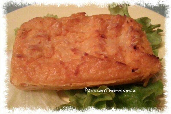 Flan de patate douce & panais