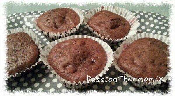 Muffins léger au chocolat
