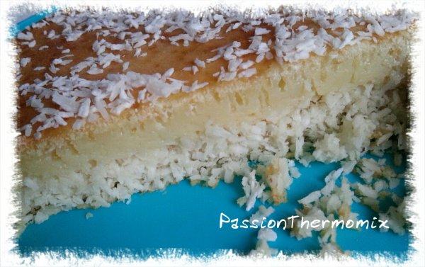 Gâteau à la noix de coco léger