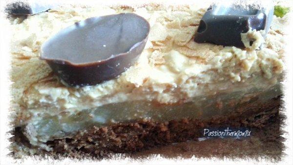 Croustillant poire caramel