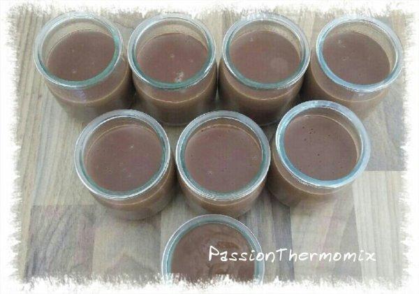Crème dessert au chocolat, façon La Laitière