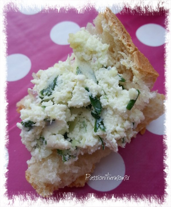Fromage ail & fines herbes