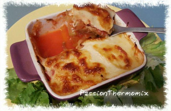 Lasagne que de légumes