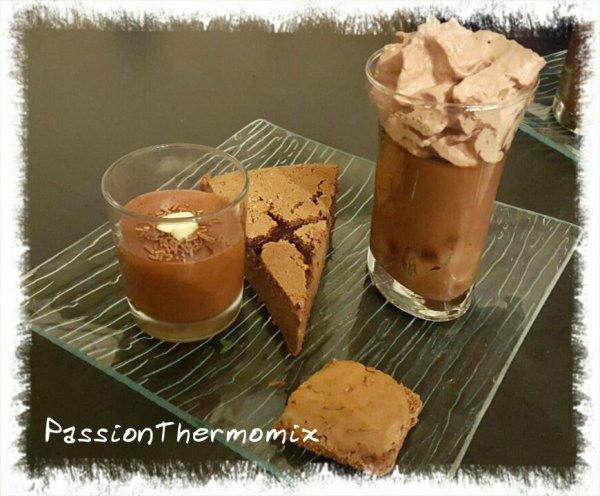 Biscuits macaronnés au chocolat
