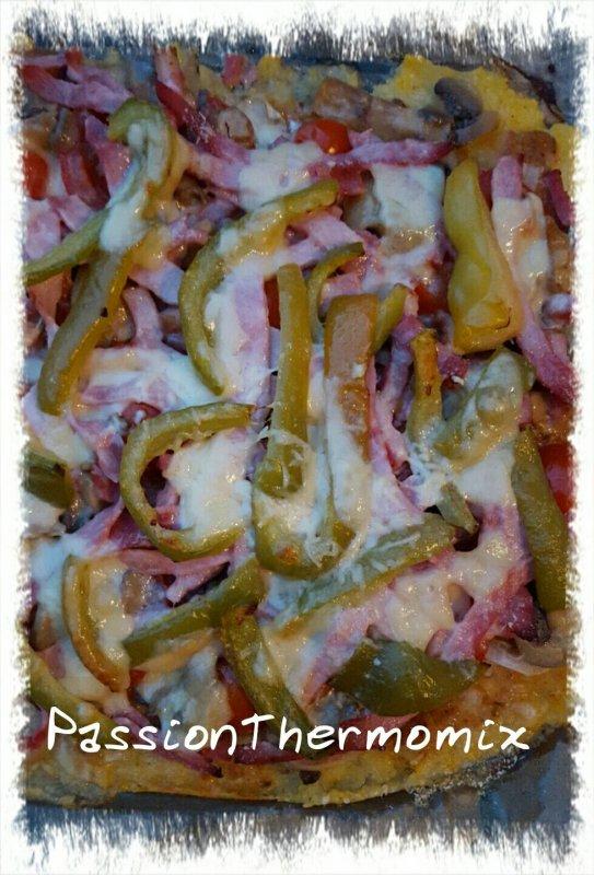 Polenta façon pizza