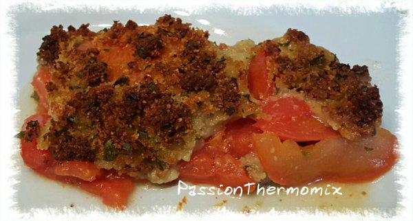 Crumble light de tomates