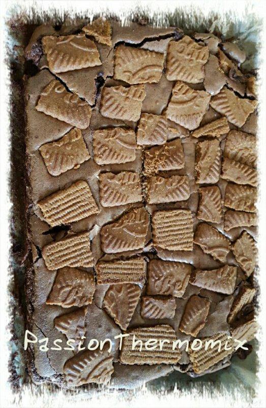 Brownies aux spéculos