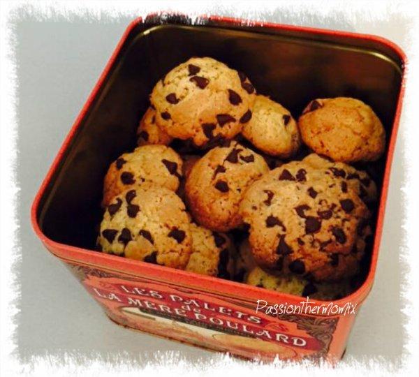 Cookies moelleux à l'Américaine