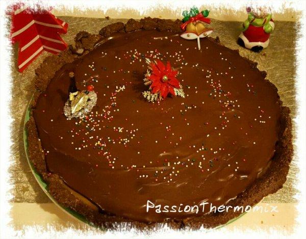 Tarte au chocolat & caramel
