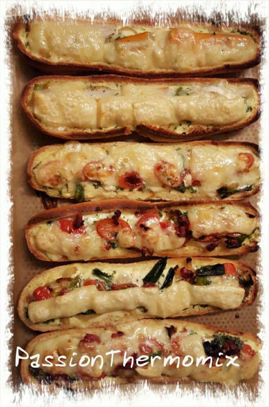Pizza baguette