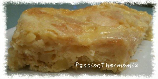Gâteau pommes-poires au micro onde, light