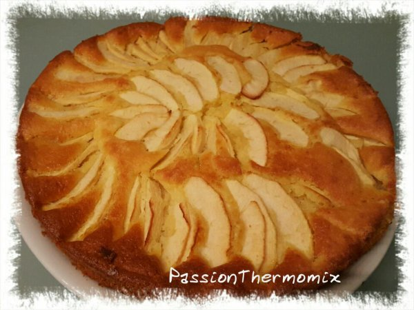Gâteau frangi-pommes