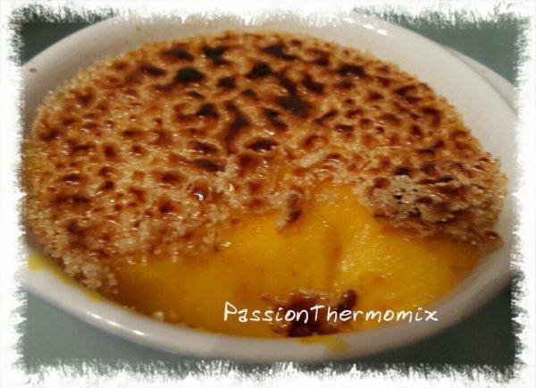 Crème brûlée au potimarron
