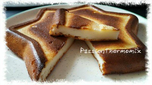 Gâteau au fromage blanc sans oeuf