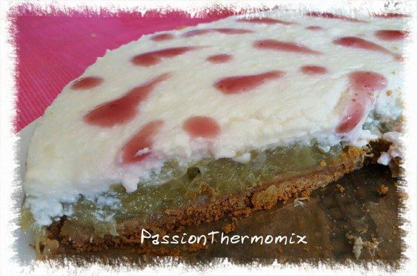 Délice de rhubarbe & yaourt