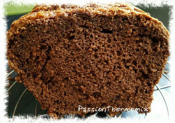 Cake léger au yaourt & cacao