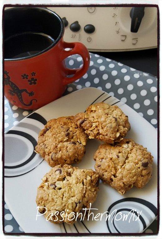 Cookies diététiques aux flocons d'avoine