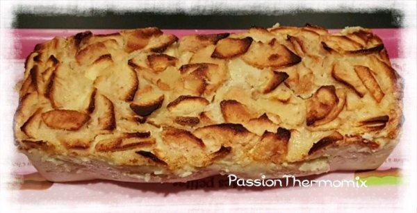 Fondant aux pommes, à la saveur d'amande