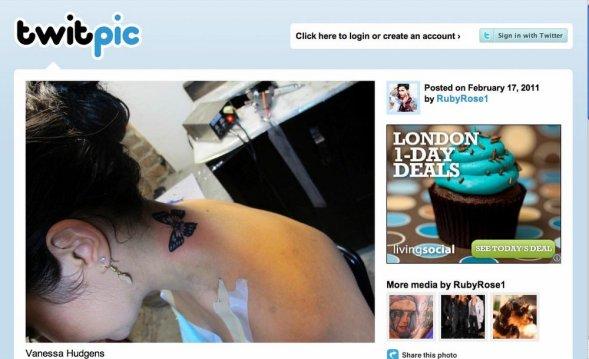 Vanessa Hudgens copie Rihanna pour son premier tatouage !