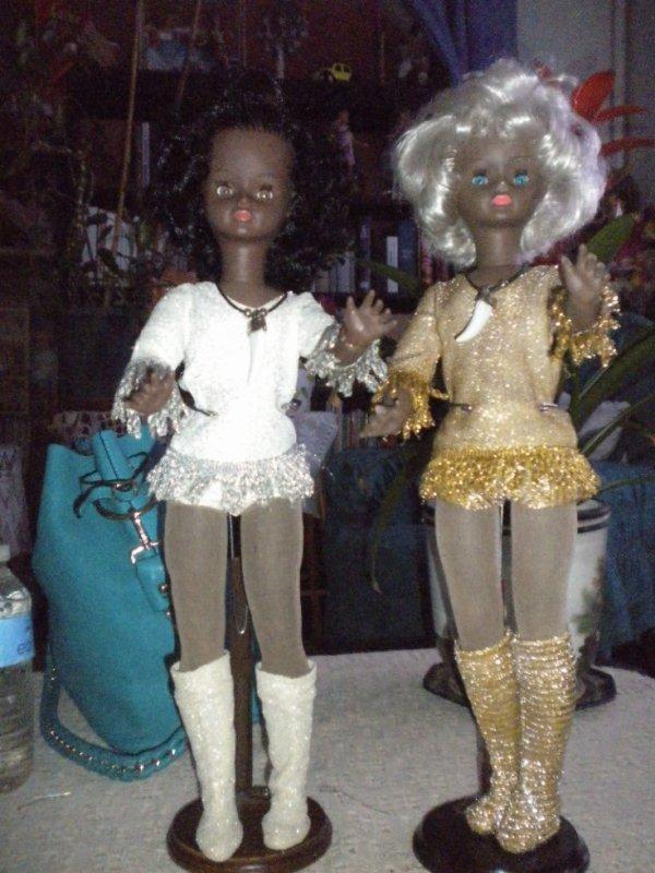 Candy et Sylvette de Bella 1975