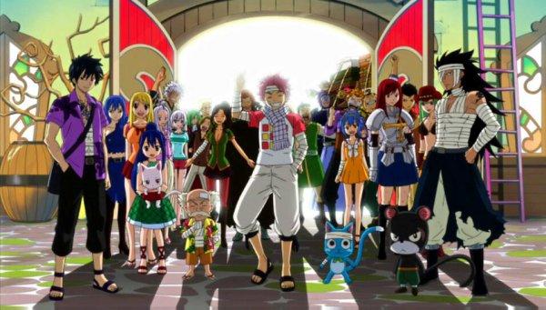 Fairy Tail : nouveaux membres, nouveaux défis. Prologue.