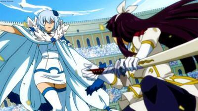 Fairy Tail : nouveaux membres, nouveaux défis. Chapitre 2 : Komatsu Miharu et Ishimaru Sachiko.