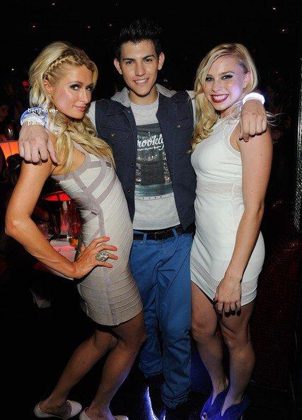 Nick Hissom, modèle et artiste du disque, fait ses débuts au club Performance Tryst intérieur Wynn Las Vegas Avec Superstars Fabricant et Lil Jon
