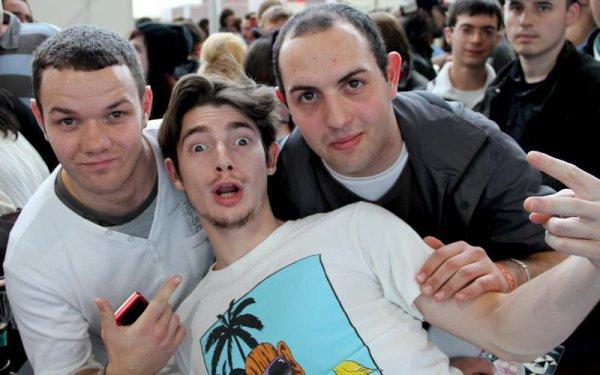 *Moi,Florent Dorin,et Edwin