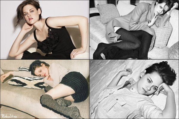 Photoshoot : Kristen pour ELLE - 2010