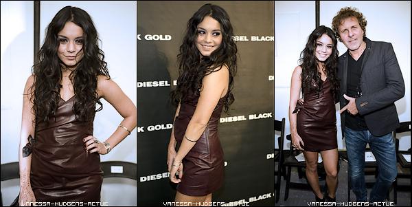 15/02/11 Vanessa dans New York15/02/11 Vanessa va voir Christiano Ronaldo 15/02/11 Vanessa au défilé Diesel Black And Gold
