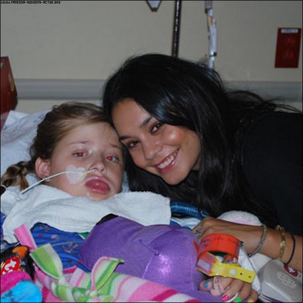 16/09/10 : Vanessa rendant visites a une enfant malade