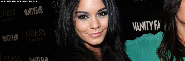 29/09/10 : Vanessa Hudgens était a Guess Seductive Launch