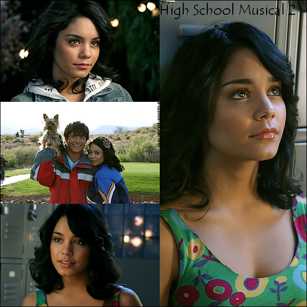 De nouvelle photo de Vanessa Hudgens sur le set d'High school Musical 2
