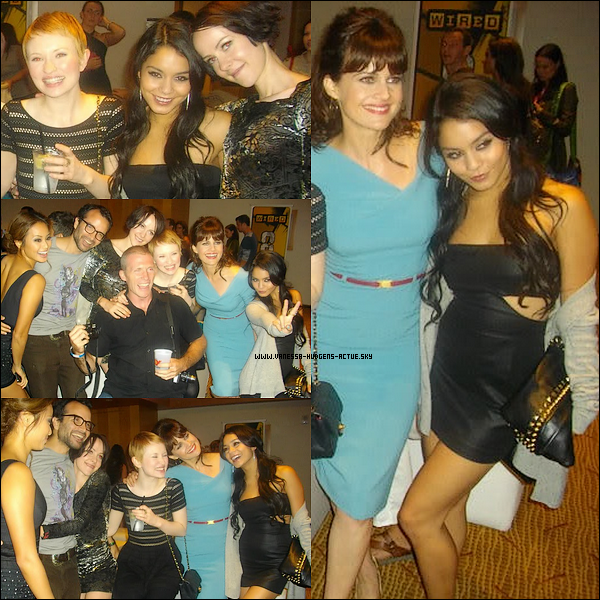 "Vanessa Hudgens et le CAST de ""Sucker Punch"""