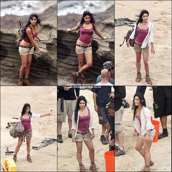 10/11/10 : Vanessa hudgens toujour sur le tournage de The Misterious Island