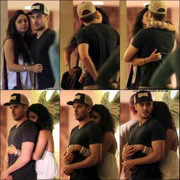 - 28/11/10 : Vanessa et Zac on été vu entrain de S'embrassé a Waikki (Hawaii)-