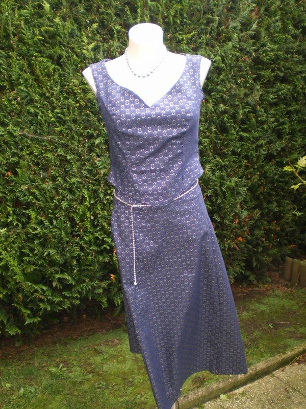 Ensemble en jean haut et jupe taille 38 40 blog de cococreation320 - Ensemble jupe et haut habille ...