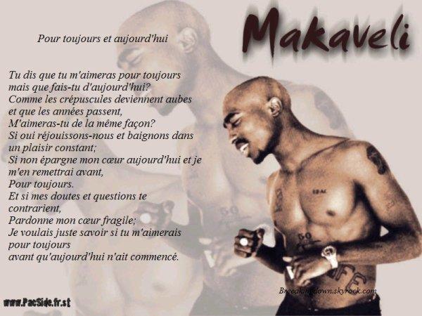 Extrait d'un poeme (Traduit) de Tupac Shakur.