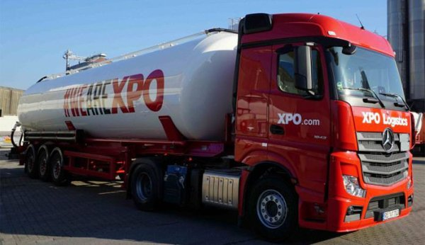 """Mercedes MP3 """"WE ARE XPO"""" les debuts du marquage"""