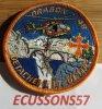 ÉCUSSON DRAGON 48 DU DÉTACHEMENT MENDE (LOZÈRE)