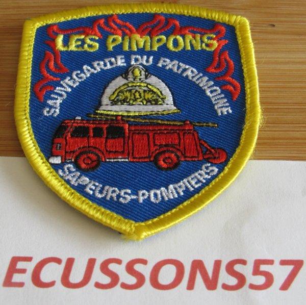 ECUSSON DE L'ASSOCIATION DE SAUVETAGE DU PATRIMOINE DES SAPEURS POMPIERS ...