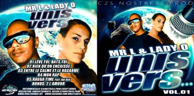 """CADEAU !!!! NOUVEL EP """"UNIS VERS"""" MR L & LADY O"""