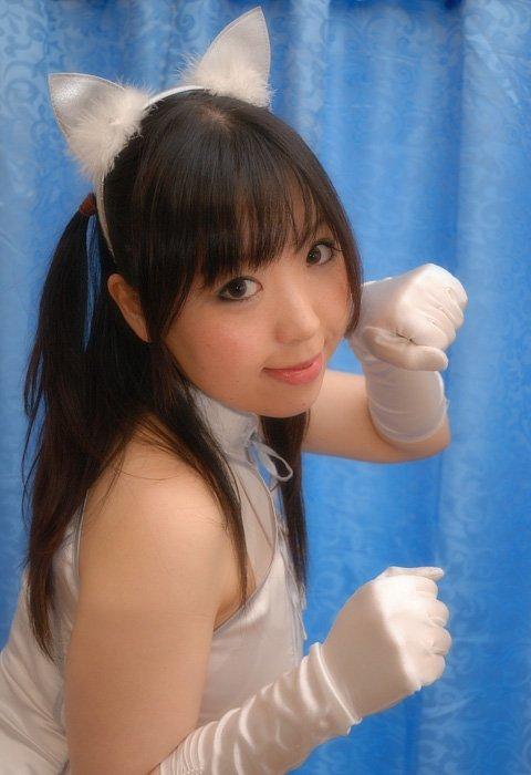 一猫コスプレ(* ´ 3`*)b☆