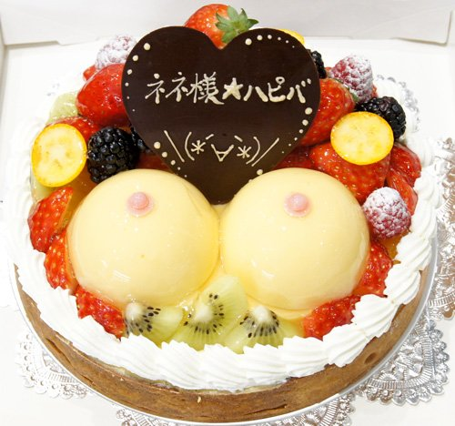 My birthday cake!(^ω^)