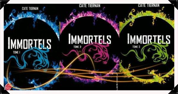 Immortels les tomes 1,2 et 3