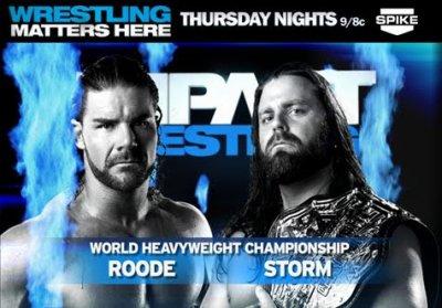 Liens des shows de Impact Wrestling du mois de Novembre